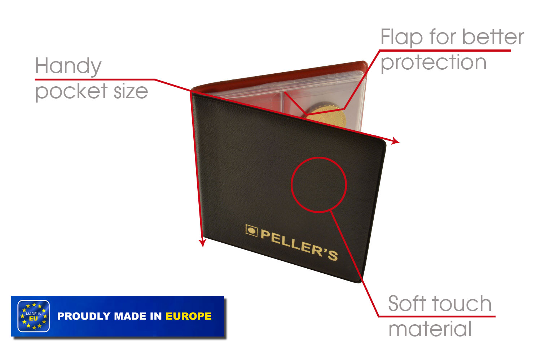 Album S for coins Pellers